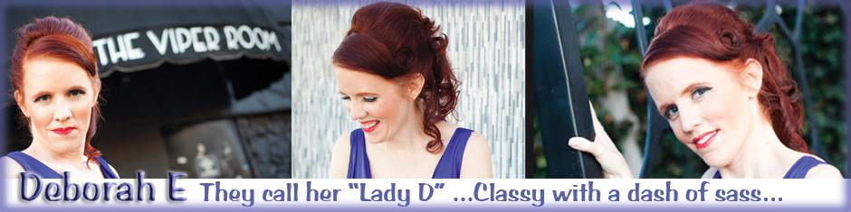 Deborah E, Jazz Singer header image